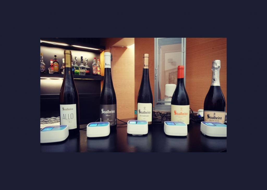 verre à vin intelligent au service de l'événementiel